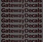 Gateway Decals