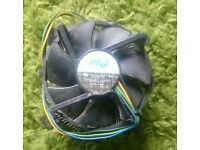 Intel LGA775 Cooling Fan 4-Pin Connector Copper Core Heatsink