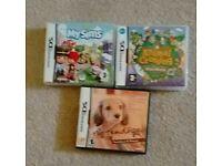 Nintendo ds games x 3