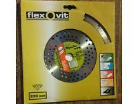 Flexovit megaline diamond disc Cutter Rrp £60