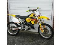 suzuki rm 125 motorcross bike crosser 250 450 85 rmz kx kxf yz yzf ktm cr crf pit bike enduro quad