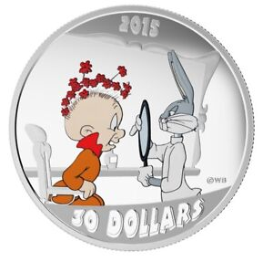Looney Tunes 2 oz. Silver Coin The Rabbit of Seville (2015)