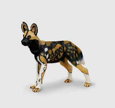 (AFRICAN WILD DOG # 239729 Unique Authentic Replica FREE SHIP-USA $25+SAFARI LTD.)