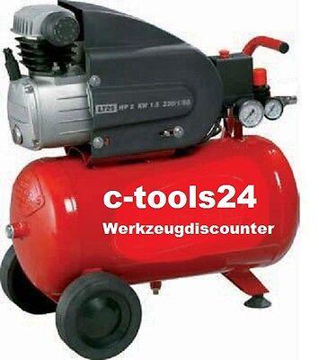 25 Liter Kompressor Druckluftkompressor - 8 bar + Metabo Blaspistole + Schlauch
