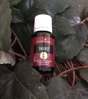 Young Living Thieves Essential Oil 100  Pure Therapeutic Grade New