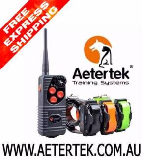 Aetertek Dog remote training collar Dog Anti bark control collar
