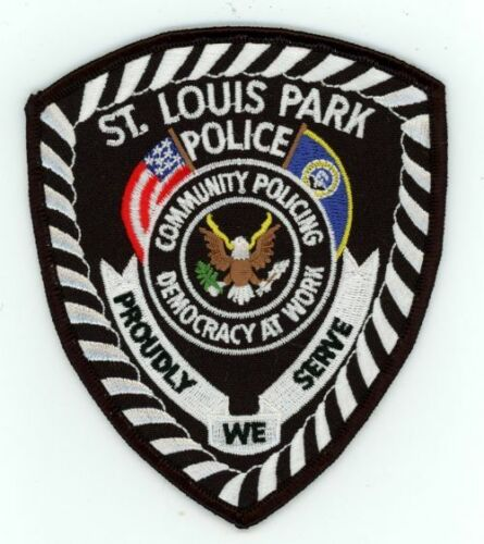 ST LOUIS PARK POLICE MINNESOTA MN NEW PATCH SHERIFF