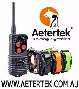 Aetertek Dog Remote training Collar Bark Control Collar Electric Adelaide CBD Adelaide City Preview