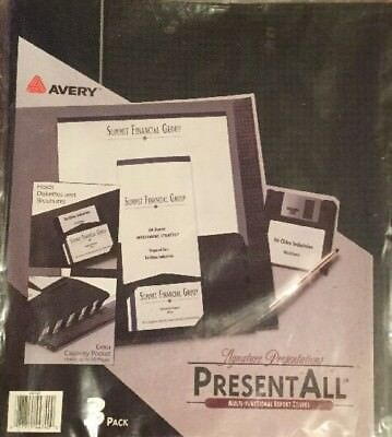 Lot 15 AVERY Signature Presentation Report Covers Multi Functional Brand New Lot Avery Plastic Report Covers