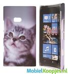 Nokia Lumia 900 Hard Case Hoesje - Kitty Love
