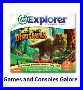 NEW! Leap Pad 2 / Leapster Explorer LeapPad Game Digging for Dinosaurs Leapfrog