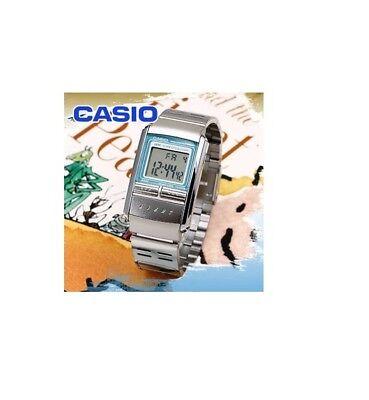 Casio LA-200WD-2A Futurist Illuminator Alarm Chronograph Womens Watch LA-200 for sale  Shipping to Canada