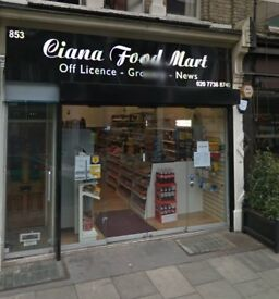 ***Off Licence - Fulham Road***