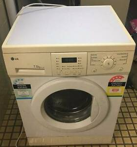 LG 7.5 kg front loader washing machine/3 Months warranty Y165 Yeerongpilly Brisbane South West Preview