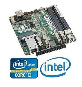 NEW INTEL NUC i3 SFF MOTHERBOARD COMPUTER DESKTOP PC BOARD - BAREBONE MOTHERBOARD W/ CPU ONLY ! 105891929