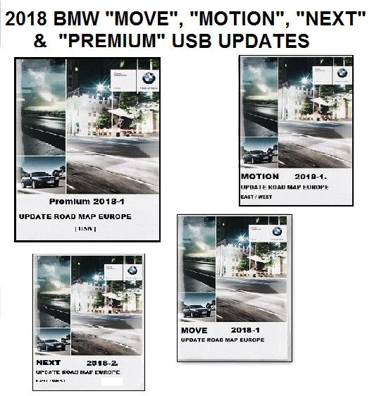 BMW 2018, MOVE, MOTION, NEXT & PREMIUM NAVIGATION UPDATE MAPS EUROPE | in  Temple Meads, Bristol | Gumtree