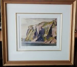 3 Group of Seven - A.J. CASSON SIGNED AND FRAMED PRINTS!