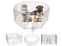 TWO Animal Pens Dogs Rabbits Guinea Pigs