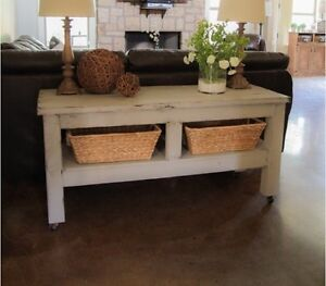 Pottery Barn Inspired Coffee Tables