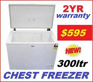 Chest Freezer new 300 Litre. $595. 2 YR Warranty. BUY OR RENT. Brisbane City Brisbane North West Preview