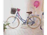 Beautiful Vintage Style Ladies Pendleton Bicycle (and Cath Kidson helmet)