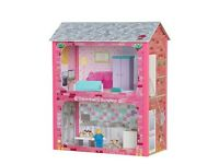 Brand new Plum Camden court dolls house with accessories rrp £35