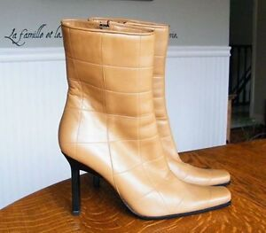 Italian Leather Boots - Never Been Worn