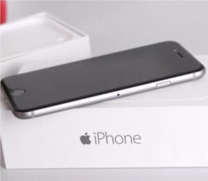 Apple iPhone 6 Space Gray 32gb Virgin Mobile **CRACKED SCREEN**
