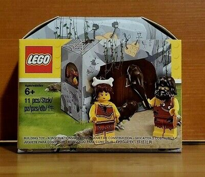 LEGO Caveman & Cavewoman Minifigs (5004936) New & Factory Sealed