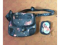 Animal handbag / shoulder bag and matching purse