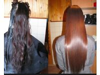 HAIR BLOW DRY Treatment with Celebrity known product COCOCHOCO Brazilian Keratin HAIR STRAIGHTENING