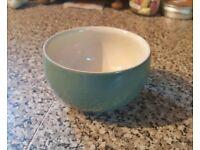 Vintage Denby Recency Green Sugar Bowl