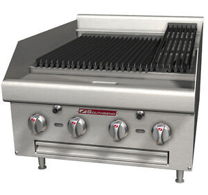 HEAVY DUTY CHARCOAL CHARBROILER * SOUTHBEND * GRILLOIRS RADIANTS