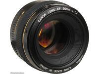 canon 50mm 1.4 lens