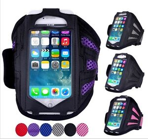 iPhone 5 5S 6 6S / iPod Touch Deluxe Armband Sportband Case $7