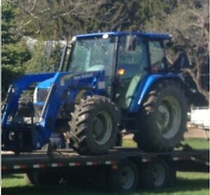 New holland t5070 with loader