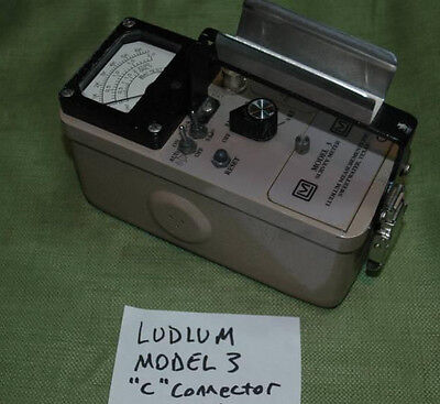 Ludlum Model 3 Survey Meter
