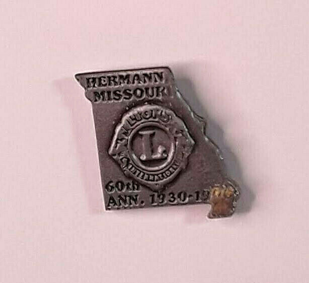 Lions Club - Missouri - Hermann MO 60th Anniversary 1930-1990