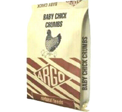 20kg ARGO BABY CHICK CRUMBS - Wild Caged Birds Feeds bp Widlife Foods vf Poultry