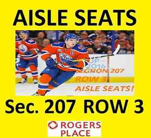 Edmonton Oiler Tickets 4 Seats Great Games Canucks, Philly, more