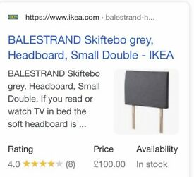 Brand new ikea headboard