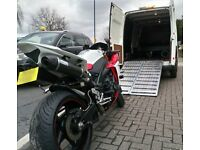 24Hr Motorcycle Transport Recovery / Impound Collection Delivery Motorbike Bike Scooter Breakdown
