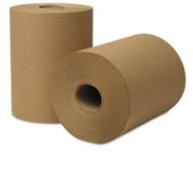 Industrial Papar rolls for cleaning and hygiene