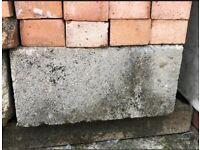 Heavy Concrete Blocks and bricks Size 140x440x210mm