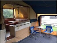 Conway Cruiser folding camper AWNING ONLY