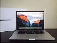 "Apple MacBook Pro 15"" retina 2.3Ghz i7 256GB SSD Logic Pro X Final Cut Pro Photoshop cs6 Office"