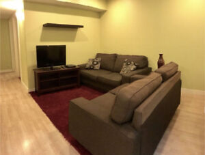 Ideally Situated Furnished 1 Bedroom Basement Suite