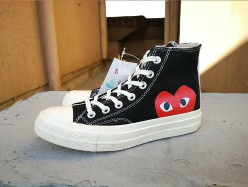 b859c3bbce7a COMME DES GARCONS PLAY Chuck Taylor x CONVERSE White   Black Hi free  delivery