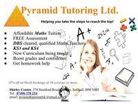 KS3 and KS4 Maths Tuition