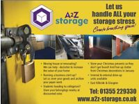 A2Z Storage - Units to Rent in East Kilbride & Glasgow: Low Cost and Top Service. 01355 229 330